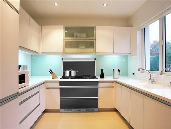 整体厨房电器烟机灶具消毒柜