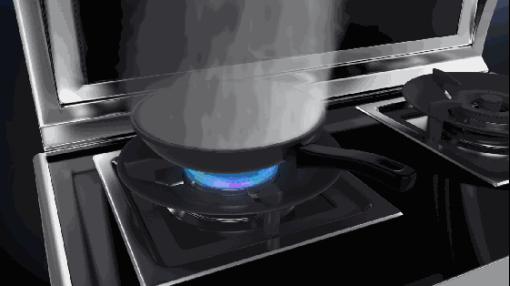 一家厨卫电器分体式集成灶集成抽油烟机