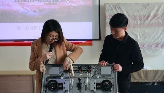 燃气灶具现场拆卸安装维修演示可以提高灶具厂家品牌的知名度及宣传