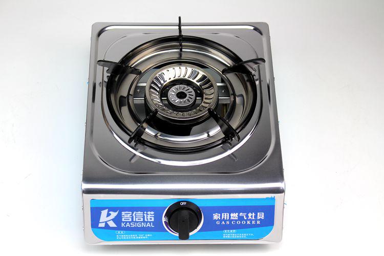 家用燃气灶具厂家生产的台式煤气灶