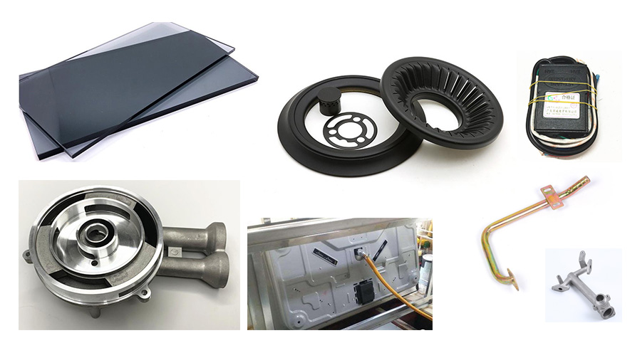 客信燃气灶,客信煤气炉具生产过程所需部分配件