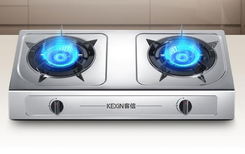 台式钢面天然气灶具生产批发供应厂家(KEXIN客信)